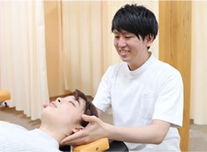 肩、首の施術